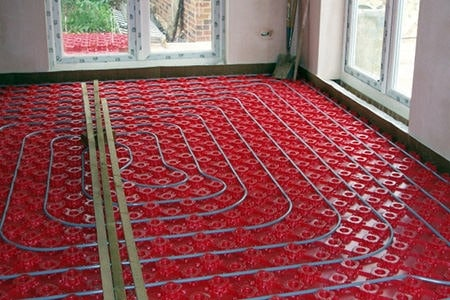 In-Floor Radiant Heat