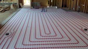 radiant heating floors